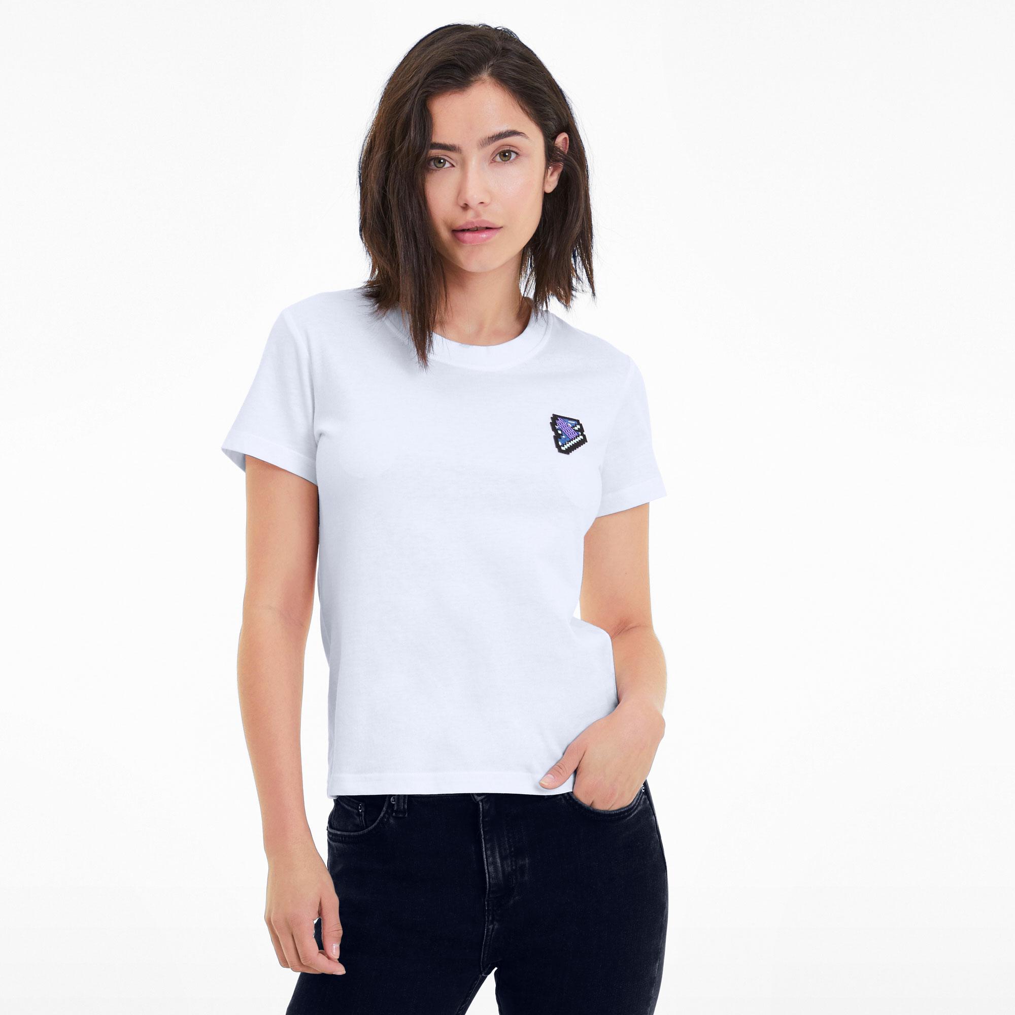 Puma Women's Digital Love Tee Shirt 597068-02