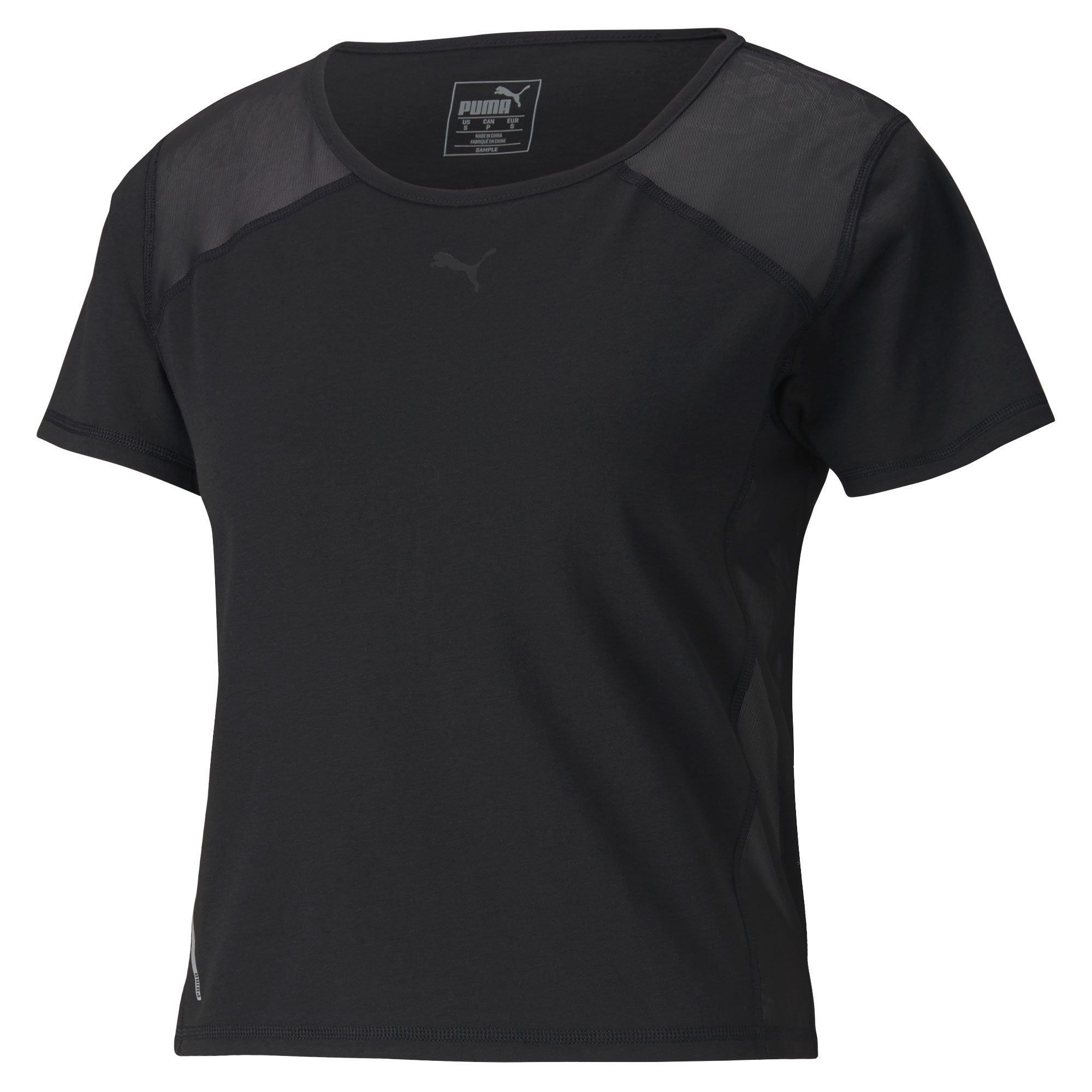 Puma Women's Be Bold Mesh Tee Running Training Shirt 518926-01