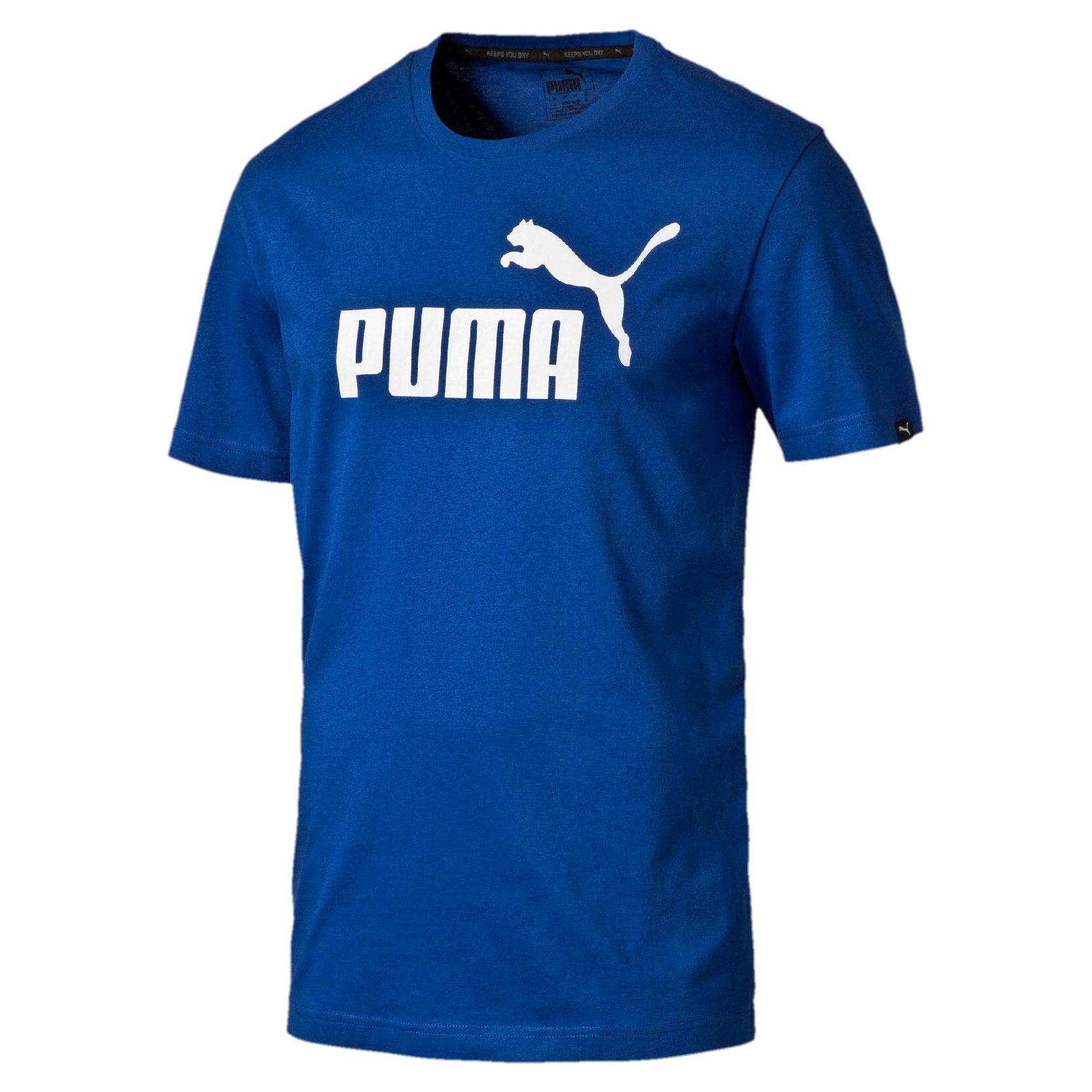 PUMA Men's ESS No.1 Tee Mazarine Blue Shirt 838241-11