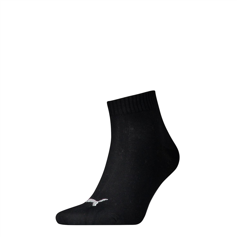 PUMA Men's Sock Basic Trainers Quarter Socks 1 Pack Black 90675301