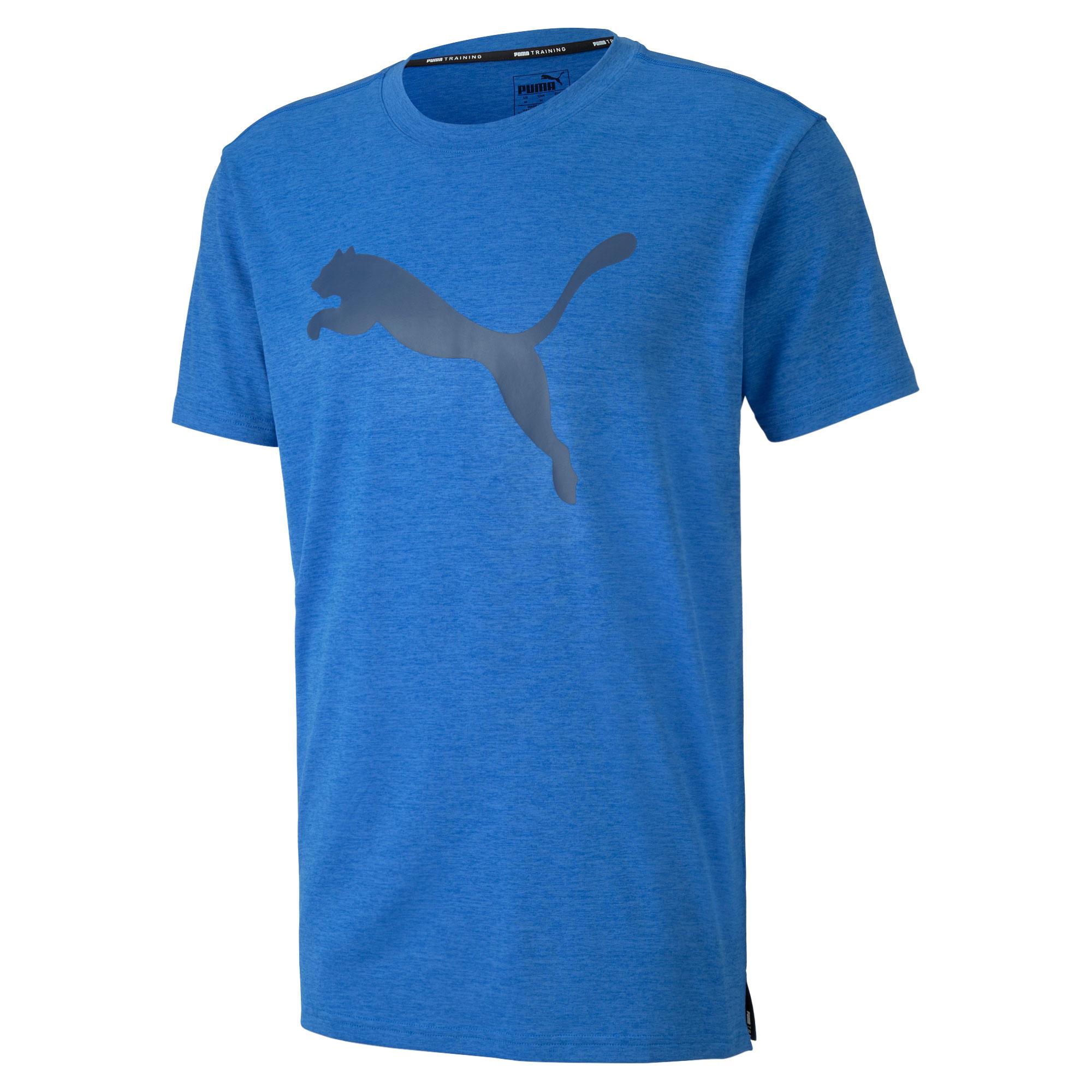 Puma Men's Heather Cat Tee Running Training Shirt 518382-12